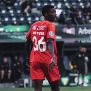 Ghanaian youngster Maxwell Woledzi finally makes debut for FC Nordsjaelland