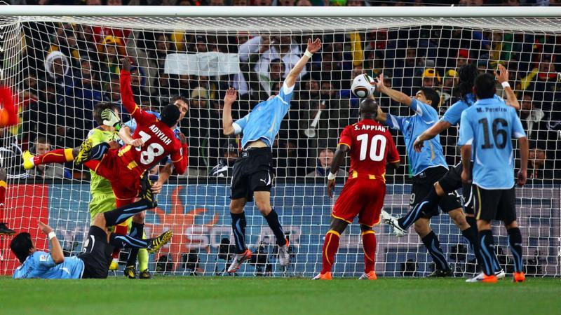 Ghana players 'cannot forgive' Suarez handball 10 years on