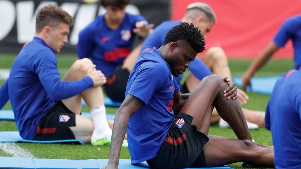 Thomas Partey racing against time to be fit for Atl. Madrid's UCL clash against RB Leipzig