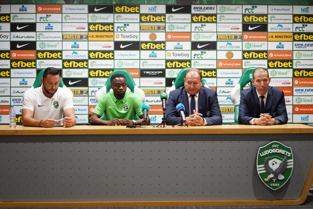 Tekpetey reveal reasons for joining Ludogorets; Cites UCL, Europa league football