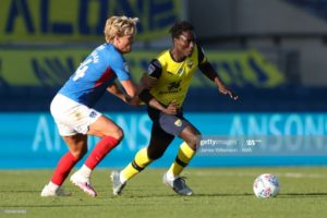 Daniel Agyei features in Oxford United win over Portsmouth to reach League One play-off final