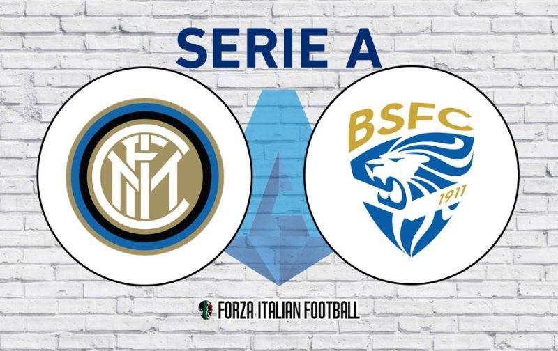 Inter v Brescia: Probable Line-Ups and Key Statistics