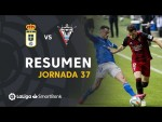 Resumen de Real Oviedo vs CD Mirandés (1-0)