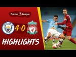 Highlights: Man City 4-0 Liverpool | Reds suffer defeat at the Etihad - With added crowd effects