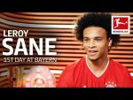 Leroy Sane's First Day at FC Bayern München
