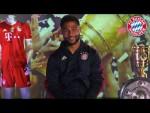 Serge Gnabry takes on the FC Bayern DFB-Pokal Quiz