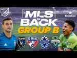Top Strikers: Who Will Score The Most Goals in Group B? | MLS Is Back