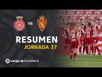 Resumen de Girona FC vs Real Zaragoza (1-0)