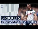 5 ROCKETS V EVERTON | Ft. Kane, Kanoute & Pedro Mendes!