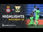 Highlights RCD Espanyol vs CD Leganés (0-1)