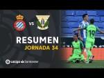 Resumen de RCD Espanyol vs CD Leganés (0-1)
