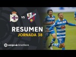 Resumen de RC Deportivo vs SD Huesca (2-1)