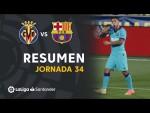 Resumen de Villarreal CF vs FC Barcelona (1-4)