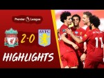 Highlights: Liverpool 2-0 Aston Villa | Curtis Jones scores his first PL Goal - With crowd effects
