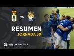 Resumen de Real Oviedo vs UD Las Palmas (2-1)