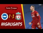 Highlights: Brighton 1-3 Liverpool | Salah's double & Henderson's screamer wins it