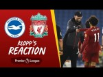 Klopp's Reaction: 'A job well done' | Brighton vs Liverpool