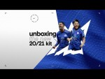 Unboxing the 2020/21 home kit with Out of the Blue