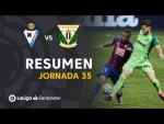 Resumen de SD Eibar vs CD Leganés (0-0)