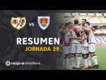 Resumen de Rayo Vallecano vs CD Numancia (3-2)