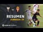 Resumen De Albacete BP vs Real Sporting (1-1)