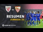 Resumen de Athletic Club vs Sevilla FC (1-2)