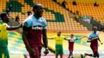 Antonio scores four goals to relegate Norwich
