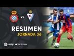Resumen de RCD Espanyol vs SD Eibar (0-2)