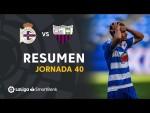 Resumen de RC Deportivo vs Extremadura UD (2-3)
