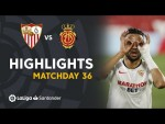 Highlights Sevilla FC vs RCD Mallorca (2-0)