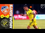 FC Cincinnati 0-4 Columbus Crew SC | Insane Free Kick! | MLS Highlights