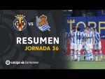 Resumen de Villarreal CF vs Real Sociedad (1-2)