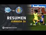 Resumen de Deportivo Alavés vs Getafe CF (0-0)