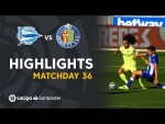 Highlights Deportivo Alavés vs Getafe CF (0-0)