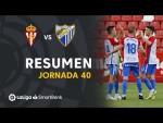 Resumen de Real Sporting vs Málaga CF (2-1)