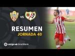Resumen de UD Almería vs Rayo Vallecano (3-2)