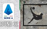 Serie A Player of the Week | Round 32