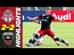 Toronto FC 2-2 D.C. United   Red Card & a Comeback   MLS Highlights