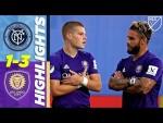 New York City FC 1-3 Orlando City SC   Mueller Brace Crushes NYCFC   MLS Highlights