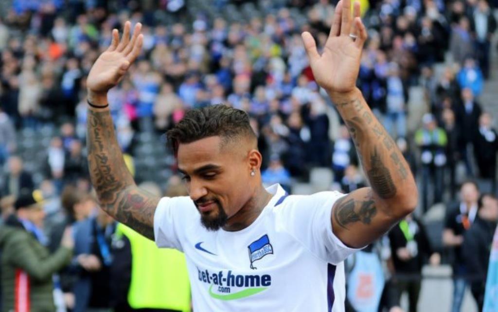 Kevin-Prince Boateng eager for Hertha Berlin return