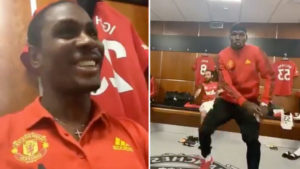 """VIDEO: Odion Ighalo and Paul Pogba dancing to Wizkid's """"Soco"""""""