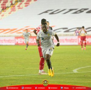 Afriyie Acquah wins MoTM award after powering Yeni Malatyaspor to crucial win at Sivasspor