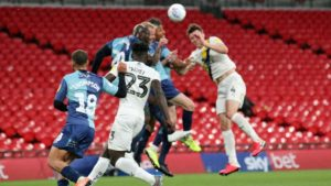 Daniel Agyei features for Oxford Utd in defeat to Wycombe as they miss out on promotion
