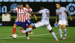 Joseph Aidoo plays 90 minutes as Celta Vigo draw at home to Partey's Atletico Madrid