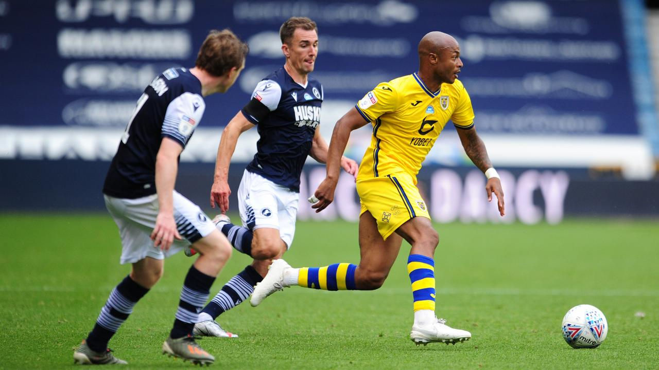 Andre Ayew features as Swansea draw against Millwall