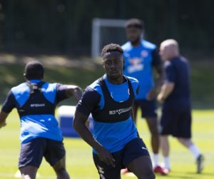 Exclusive: Andy Yiadom joins Reading teammates at training after recovering from injury