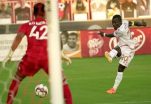 Ghanaian winger Solomon Asante scores twice and provides assist as Phoenix Rising thrash LA Galaxy II