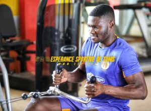 Midfielder Kwame Bonsu steps up training in rehab after successful surgery