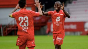 Free-scoring Gilbert Koomson nets brace to steer SK Brann to a crucial win against Sandefjord