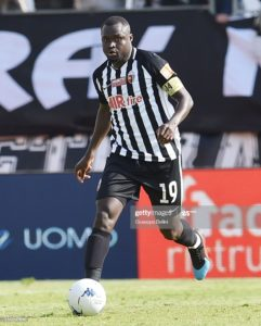 Bright Addae features in Juve Stabia's home draw against Virtus Entella